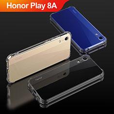 Silikon Schutzhülle Ultra Dünn Tasche Durchsichtig Transparent T04 für Huawei Honor Play 8A Klar