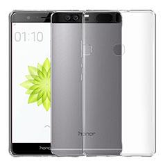 Silikon Schutzhülle Ultra Dünn Tasche Durchsichtig Transparent T04 für Huawei Honor V8 Klar