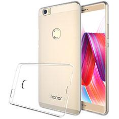 Silikon Schutzhülle Ultra Dünn Tasche Durchsichtig Transparent T04 für Huawei Honor V8 Max Klar