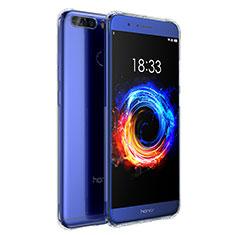 Silikon Schutzhülle Ultra Dünn Tasche Durchsichtig Transparent T04 für Huawei Honor V9 Klar