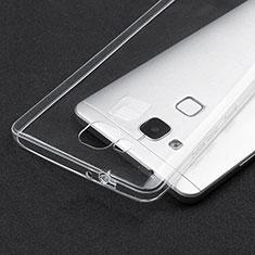 Silikon Schutzhülle Ultra Dünn Tasche Durchsichtig Transparent T04 für Huawei Mate 7 Klar