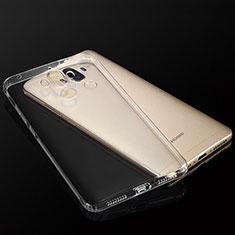 Silikon Schutzhülle Ultra Dünn Tasche Durchsichtig Transparent T04 für Huawei Mate 9 Klar