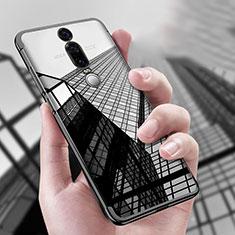 Silikon Schutzhülle Ultra Dünn Tasche Durchsichtig Transparent T04 für Huawei Mate RS Schwarz