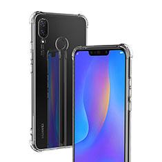 Silikon Schutzhülle Ultra Dünn Tasche Durchsichtig Transparent T04 für Huawei P Smart+ Plus Klar