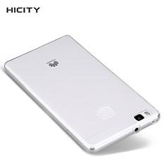 Silikon Schutzhülle Ultra Dünn Tasche Durchsichtig Transparent T04 für Huawei P9 Lite Klar