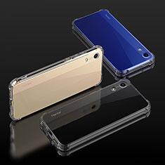 Silikon Schutzhülle Ultra Dünn Tasche Durchsichtig Transparent T04 für Huawei Y6 (2019) Klar