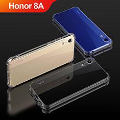 Silikon Schutzhülle Ultra Dünn Tasche Durchsichtig Transparent T04 für Huawei Y6 Prime (2019) Klar