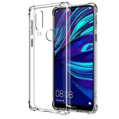 Silikon Schutzhülle Ultra Dünn Tasche Durchsichtig Transparent T04 für Huawei Y7 Pro (2019) Klar