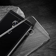 Silikon Schutzhülle Ultra Dünn Tasche Durchsichtig Transparent T04 für OnePlus 3 Klar