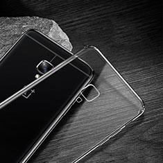 Silikon Schutzhülle Ultra Dünn Tasche Durchsichtig Transparent T04 für OnePlus 3T Klar