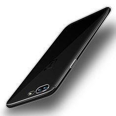 Silikon Schutzhülle Ultra Dünn Tasche Durchsichtig Transparent T04 für OnePlus 5 Klar