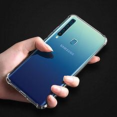 Silikon Schutzhülle Ultra Dünn Tasche Durchsichtig Transparent T04 für Samsung Galaxy A9s Klar