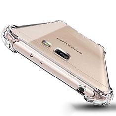 Silikon Schutzhülle Ultra Dünn Tasche Durchsichtig Transparent T04 für Samsung Galaxy J5 Prime G570F Klar