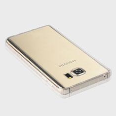 Silikon Schutzhülle Ultra Dünn Tasche Durchsichtig Transparent T04 für Samsung Galaxy Note 5 N9200 N920 N920F Klar