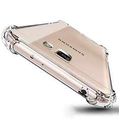 Silikon Schutzhülle Ultra Dünn Tasche Durchsichtig Transparent T04 für Samsung Galaxy On5 (2016) G570 G570F Klar