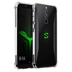 Silikon Schutzhülle Ultra Dünn Tasche Durchsichtig Transparent T04 für Xiaomi Black Shark Helo Klar
