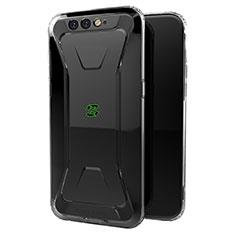 Silikon Schutzhülle Ultra Dünn Tasche Durchsichtig Transparent T04 für Xiaomi Black Shark Klar