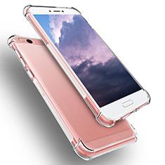 Silikon Schutzhülle Ultra Dünn Tasche Durchsichtig Transparent T04 für Xiaomi Mi 5C Klar