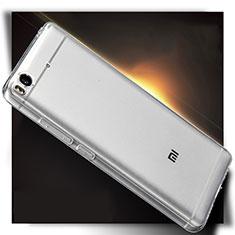 Silikon Schutzhülle Ultra Dünn Tasche Durchsichtig Transparent T04 für Xiaomi Mi 5S Klar