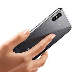 Silikon Schutzhülle Ultra Dünn Tasche Durchsichtig Transparent T04 für Xiaomi Mi 8 Explorer Klar