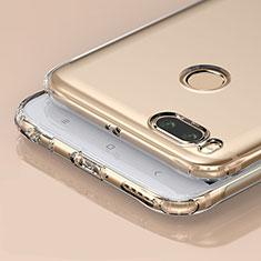 Silikon Schutzhülle Ultra Dünn Tasche Durchsichtig Transparent T04 für Xiaomi Mi A1 Klar