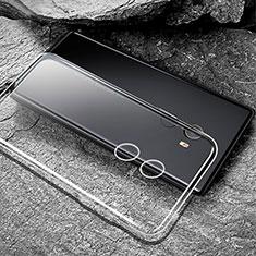Silikon Schutzhülle Ultra Dünn Tasche Durchsichtig Transparent T04 für Xiaomi Mi Mix 2 Klar