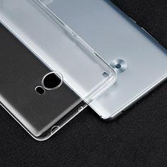 Silikon Schutzhülle Ultra Dünn Tasche Durchsichtig Transparent T04 für Xiaomi Mi Note 2 Klar