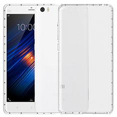 Silikon Schutzhülle Ultra Dünn Tasche Durchsichtig Transparent T04 für Xiaomi Mi Note Klar