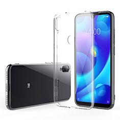 Silikon Schutzhülle Ultra Dünn Tasche Durchsichtig Transparent T04 für Xiaomi Mi Play 4G Klar