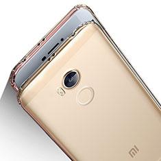 Silikon Schutzhülle Ultra Dünn Tasche Durchsichtig Transparent T04 für Xiaomi Redmi 4 Prime High Edition Klar