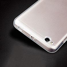 Silikon Schutzhülle Ultra Dünn Tasche Durchsichtig Transparent T04 für Xiaomi Redmi 4A Klar