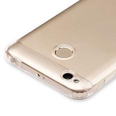 Silikon Schutzhülle Ultra Dünn Tasche Durchsichtig Transparent T04 für Xiaomi Redmi 4X Klar