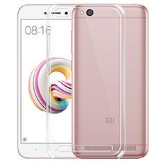 Silikon Schutzhülle Ultra Dünn Tasche Durchsichtig Transparent T04 für Xiaomi Redmi 5A Klar
