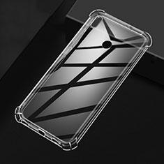 Silikon Schutzhülle Ultra Dünn Tasche Durchsichtig Transparent T04 für Xiaomi Redmi Note 7 Klar