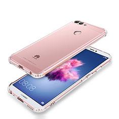 Silikon Schutzhülle Ultra Dünn Tasche Durchsichtig Transparent T05 für Huawei Enjoy 7S Klar