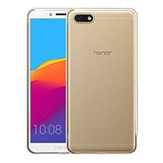 Silikon Schutzhülle Ultra Dünn Tasche Durchsichtig Transparent T05 für Huawei Enjoy 8e Lite Klar