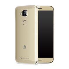 Silikon Schutzhülle Ultra Dünn Tasche Durchsichtig Transparent T05 für Huawei G9 Plus Klar