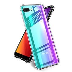 Silikon Schutzhülle Ultra Dünn Tasche Durchsichtig Transparent T05 für Huawei Honor 10 Klar