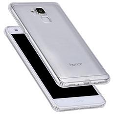 Silikon Schutzhülle Ultra Dünn Tasche Durchsichtig Transparent T05 für Huawei Honor 7 Lite Klar
