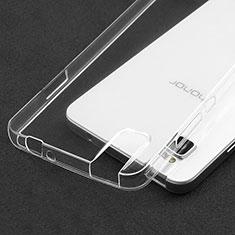 Silikon Schutzhülle Ultra Dünn Tasche Durchsichtig Transparent T05 für Huawei Honor 7i shot X Klar