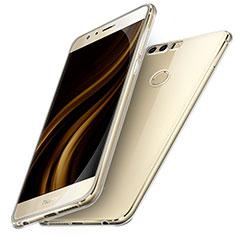 Silikon Schutzhülle Ultra Dünn Tasche Durchsichtig Transparent T05 für Huawei Honor 8 Klar