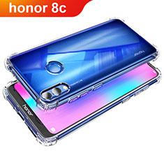 Silikon Schutzhülle Ultra Dünn Tasche Durchsichtig Transparent T05 für Huawei Honor Play 8C Klar