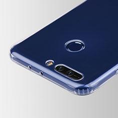 Silikon Schutzhülle Ultra Dünn Tasche Durchsichtig Transparent T05 für Huawei Honor V9 Klar
