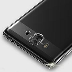 Silikon Schutzhülle Ultra Dünn Tasche Durchsichtig Transparent T05 für Huawei Mate 10 Klar