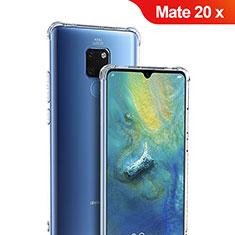 Silikon Schutzhülle Ultra Dünn Tasche Durchsichtig Transparent T05 für Huawei Mate 20 X 5G Klar