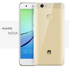 Silikon Schutzhülle Ultra Dünn Tasche Durchsichtig Transparent T05 für Huawei Nova Klar