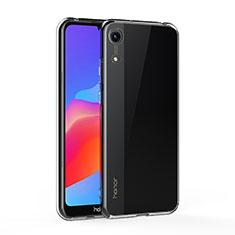 Silikon Schutzhülle Ultra Dünn Tasche Durchsichtig Transparent T05 für Huawei Y6 (2019) Klar