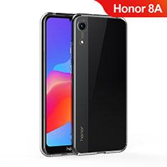 Silikon Schutzhülle Ultra Dünn Tasche Durchsichtig Transparent T05 für Huawei Y6 Pro (2019) Klar