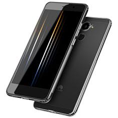 Silikon Schutzhülle Ultra Dünn Tasche Durchsichtig Transparent T05 für Huawei Y7 Prime Klar