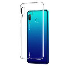 Silikon Schutzhülle Ultra Dünn Tasche Durchsichtig Transparent T05 für Huawei Y7 Pro (2019) Klar